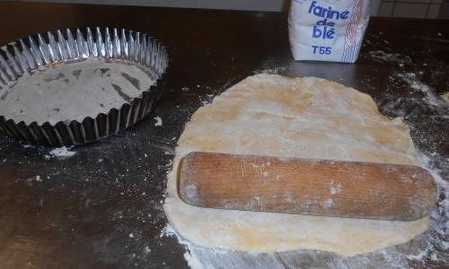 Pâte maison pour la tarte Bourdalou