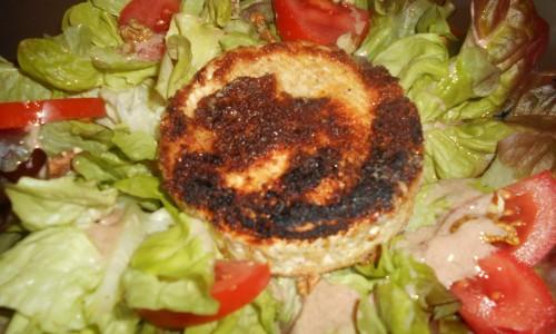 Camembert pané chaud